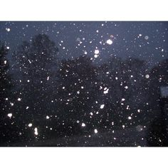 Snow Falling at Night ❤ liked on Polyvore featuring backgrounds, pictures, photos, winter, snow, scenery, borders and picture frame