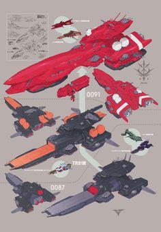Spaceships Galore! : Photo