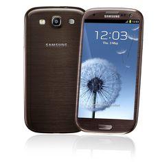 #Samsung Galaxy S3 Brown Color