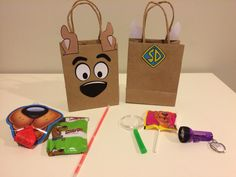 Scooby Doo favors bags