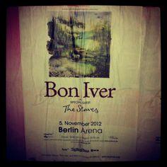 Bon Iver - Konzert in Berlin, 2012