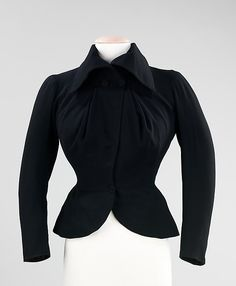 Evening jacket (front view) | Charles James (American, born Great Britain, 1906-1978) | Materials: wool, silk | United States, 1948 | The Metropolitan Museum of Art, New York