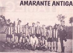 HELDER BARROS: Amarante F.C. - Uma Equipa do Amarante do Século XX, com grandes glórias e num campo que não se identifica...