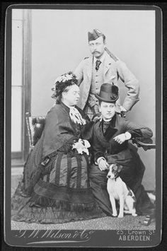 Queen Victoria with Princess Beatrice and Prince Arthur, 1878 | Royal Collection Trust