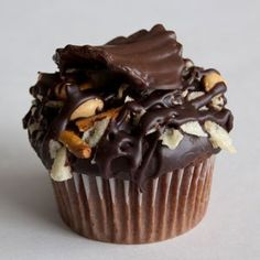 Our chocolate cupcake dipped in our beer ganache and topped with our ...