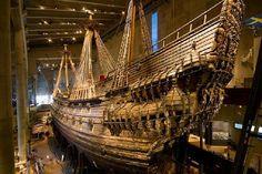"""Museo Vasa  Estocolmo, Suecia """"Como una máquina del tiempo. Un vistazo magnífico a la vida en un barco y su construcción a partir de un siniestro marítimo ocurrido..."""""""