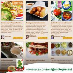 Conoces a nuestras Amigas Blogueras? Echa un vistazo a su colección de recetas  aquí!   Have you met our Amigas Blogueras? Check out their collection of recipes here!