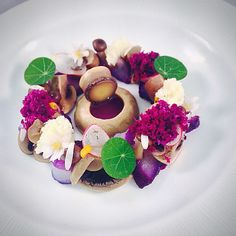 shoot of cured cod/coconut water pickled mushrooms Barbadian chef Jason Howard #codrecipes #coconutwater