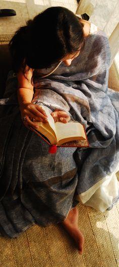 Linen Sarees by Anavila Misra