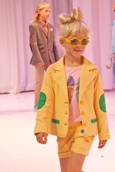 CIFF Kids catwalk show trends for kidswear spring / summer 2014