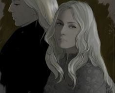 Harry Potter fan art (Lucius and Narcisa Malfoy).