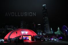 Audi TT Launch in Hong Kong. Projection onto the dome inside and outside!  #projection #hkprojection #hongkongevents #avsupplier #audiovisualspecialist #audiovisualsupplier #projectionmapping