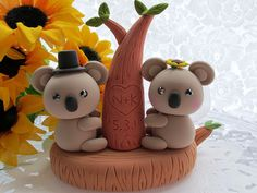 lovely koala cake topper | Flickr - Photo Sharing!