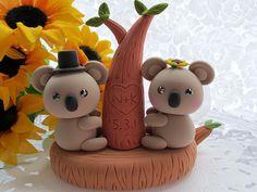 lovely koala cake topper | Flickr - Photo Sharing!