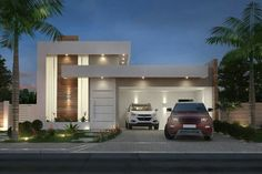 house design and architecture consultant. Modern House Facades, Modern House Plans, Modern Architecture, House Front Design, Modern House Design, Modern Exterior, Exterior Design, House Elevation, Facade House