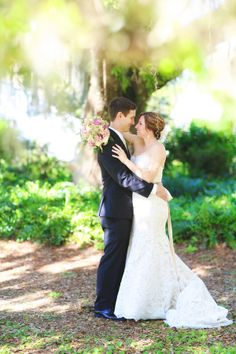 Romantic Florida Garden Wedding| Photographer: Melissa Enid Photography