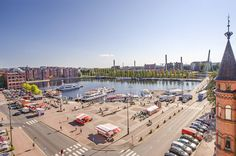 Laukontori Cities In Finland, Famous Black, River Bank, Buy Local, Sunny Days, Perfect Place, Travelling, Dolores Park, Gardening