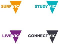 New Logo and Identity for Victoria by Designworks Australia