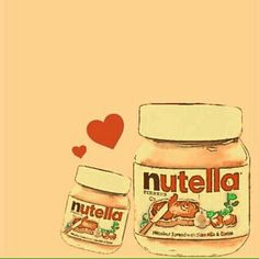 Nutella Nutella Quotes, Nutella Cake, Nutella Recipes, Coffee Drinks, Chocolate, Wallpaper, Drawings, Funny, Cow