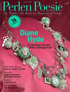 The best beading magazine in Europe is now available in the United States in English! Subscribe to Perlen Poesie (Bead Poetry) at www.Perlen-Poesie.us.