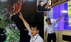 Coréia do Norte explode o seu maior de sempre arma nuclear: Kim Jong Un provocações Obama detonando sua segunda bomba atômica este ano - apenas horas após o presidente deixar Ásia terremoto de 5,3 graus na escala Richter foi detectado perto de um local de teste nuclear norte-coreano A Coreia do Norte desde então confirmou que realizou um teste nuclear bem sucedido Segundo teste este ano teve lugar poucas horas depois de Obama embrulhado turismo   O grande terremoto se acredita ter sido…