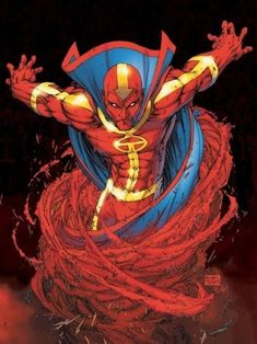 "Red Tornado  ✮✮""Feel free to share on Pinterest"" ♥ღ www.unocollectibles.com"