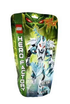 Black Friday 2014 LEGO Hero Factory Frost Beast from LEGO Cyber Monday. Black Friday specials on the season most-wanted Christmas gifts. Lego Bionicle Sets, Ice Armor, Construction Toys For Boys, Black Friday Specials, Hero Factory, Lego Toys, Buy Lego, Cool Lego Creations, Building For Kids