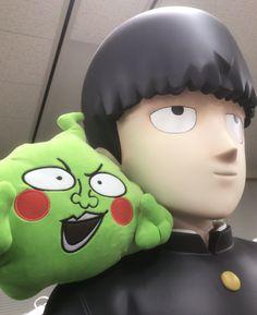 Feel like Mob with your own Ekubo plush!  #anime #otaku #manga #mobpsycho #mobpsycho100 #one #onepunchman #opm