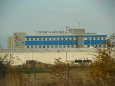 The airport in Zagreb!