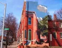 Scott and Ramsey Streets, Baltimore, Maryland