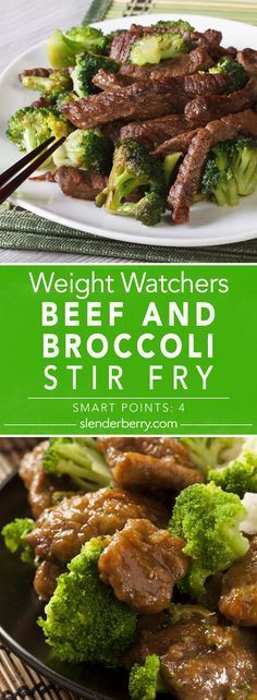 Weight Watchers Beef and Broccoli Stir Fry Recipe - 4 Smart Points