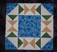 Make Flying in Circles, an Easy Flying Geese Quilt Block Pattern