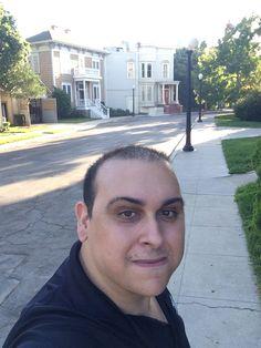 Mark Sinacori at the Fuller House house at WB (September 2016)
