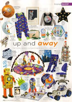 Practical Parenting – July 2015 Alien Plush Toy – Page 111 Alien Rocket Space Quilt Set – Page 111