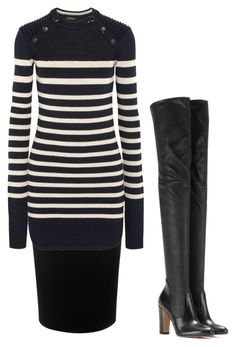 """warm layers"" by anonymous-shoppery ❤ liked on Polyvore featuring Alexander McQueen, Isabel Marant and Gianvito Rossi"