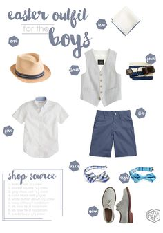 EASTER/SRING style guide:  A charming Easter outfit for the boys www.momsbestnetwork.com