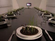 """Bienal 2010 SP-""""Arroz e Feijão"""", instalação de Ana Maria Maiolino, 1979-2007"""