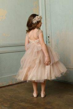blush flower girl | bhldn colette