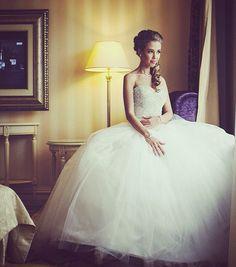 Tetszik a haja!! :) 21 Classy and Elegant Wedding Hairstyles - MODwedding