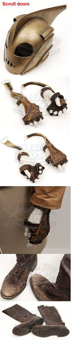 Rocketeer, The / Rocketeer Costume Because it's based on one of my favorite…