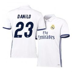 Real Madrid C.F 16-17 Season Home White #23 Danilo Soccer Jersey [H403]