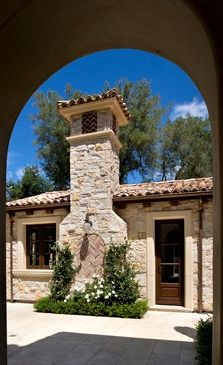 outdoor fireplaces on Pinterest Outdoor Fireplaces