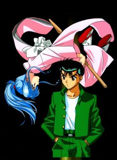 """""""Hello Yusuke.  I'm Botan, and I'll be your manic pixie dream reaper for this evening."""""""