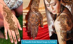 25 Beautiful Henna Bridal Mehndi Designs by Iti Kalsi http://webneel.com/mehndi-designs | Design Inspiration http://webneel.com | Follow us www.pinterest.com/webneel