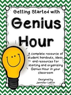 You've surely heard all the raves about Genius Hour. Genious Hour, 4th Grade Classroom, Passion Project, Project Based Learning, School Psychology, School Gifts, Educational Activities, Critical Thinking, Cool Websites