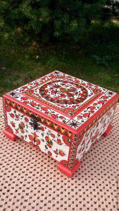 """Купить Ларец """"Райская птица"""" - комбинированный, ларец, шкатулка для украшений, для драгоценностей, шкатулка ручной работы"""