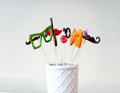 Photobooth Props  Wedding Photo Booth Props 10 by MisterMustache