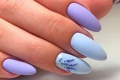 50 Beautiful Nail Art Designs & Ideas Nails have for long been a vital measurement of beauty and Cute Acrylic Nail Designs, Cute Acrylic Nails, Nail Art Designs, Gel Nails At Home, Pin On, Purple Nails, Perfect Nails, Spring Nails, Manicure And Pedicure