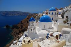 9. Santorini, Greece  Photo Credit: Giuseppe FinocchiaroSantorini is one of the Cycladic islands that was created when a volcano erupted. Some people say this is …