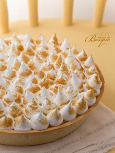 Tarte de Limão Merengada • Meringue Lemon Pie | Doces do Bosque